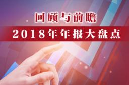 【业绩】2018年年报大盘点