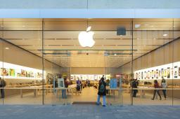 蘋果財報好于預期 可穿戴設備營收同比大增逾50%