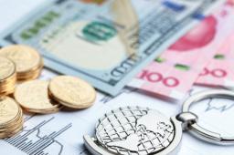 在岸人民币对美元汇率开盘跳涨逾百点
