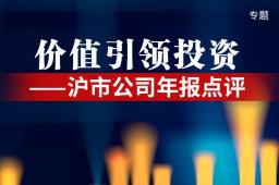 【沪市公司年报点评】价值引领投资