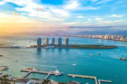 海南省委書記與首批有意愿在海南自貿港投資的世界知名企業會談