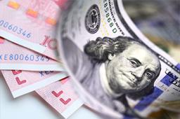 在岸人民幣對美元匯率持平開盤